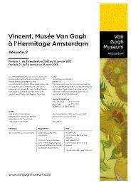 Hermitage - Van Gogh Museum