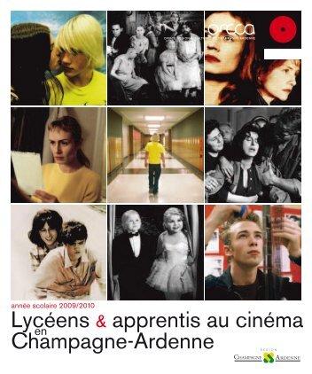 Lycéens & apprentis au cinéma Champagne-Ardenne - ORCCA