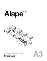 Public Spaces 2010 System A3 - Azur Ambiente