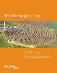New Technologies in Spain - Technology Review