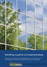 Retrofitting: A guide for non-residential buildings