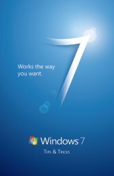 Tips and Tricks resource booklet.indd - HP + Windows 7
