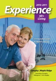50+ Living - Experience Group