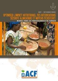 Optimiser l'impact nutritiOnnel des interventiOns sécurité alimentaire ...