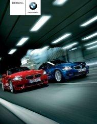 Download Der Produktkatalog der BMW Z4 M Modelle. (PDF, 3.7 MB)