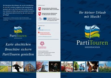 PartiTouren - Musik 21 Niedersachsen 2008-2011