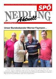 Unser Bundeskanzler Werner Faymann... - SPÖ Neidling