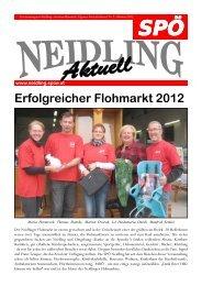 Erfolgreicher Flohmarkt 2012 - SPÖ Neidling