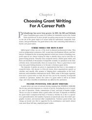 Choosing Grant Writing For A Career Path
