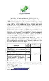 Démarrage de la campagne des tests d'eau pour les puits - Cantley