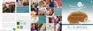 Ausstellerflyer 2012 - Slow Food Deutschland eV
