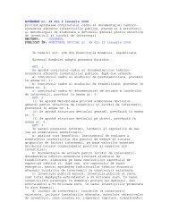 HOTARARE nr. 28 din 9 ianuarie 2008 - Agentia pentru Dezvoltare ...