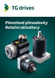 Planetové převodovky Rotační aktuátory - Metcore