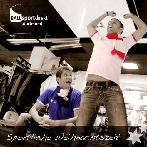 Sportliche Weihnachtszeit - Ballsportdirekt.dortmund