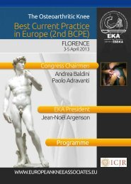 Download Programme - European Knee Associates