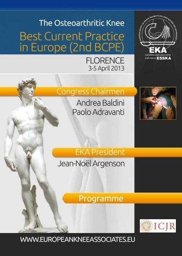 Download Programme - European Knee Associates