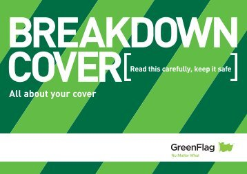 Download a PDF of our breakdown cover policy - Green Flag
