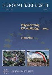 Európai Szellem II/1. (magyar) - Euro-Atlanti Klub