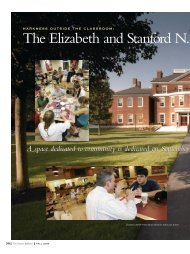 The Elizabeth and Stanford N. - Phillips Exeter Academy