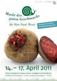 14.– 17. April 2011 - Slow Food Deutschland eV