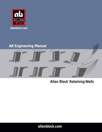 AB Engineering Manual - Allan Block
