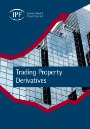 Trading Property Derivatives - Investment Property Forum