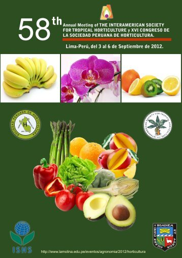 Lima-Perú, del 3 al 6 de Septiembre de 2012. - Universidad ...