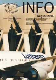 August 2004 - Vereinigung Luftfahrt eV