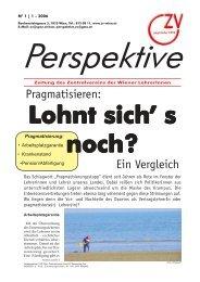 Perspektive 1-2006.p65 - Zentralverein der Wiener Lehrerschaft