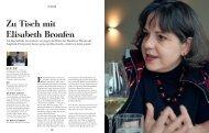 Interview: Zu Tisch mit Elisabeth Bronfen - Slow Food Schweiz