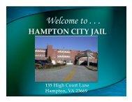 2011 2 HCF Presentation - Hampton Sheriffs Office