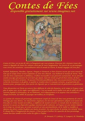 disponible gratuitement sur www.imaginez.net
