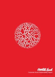 Corporate Social Responsibility Report - The Coca-Cola Company
