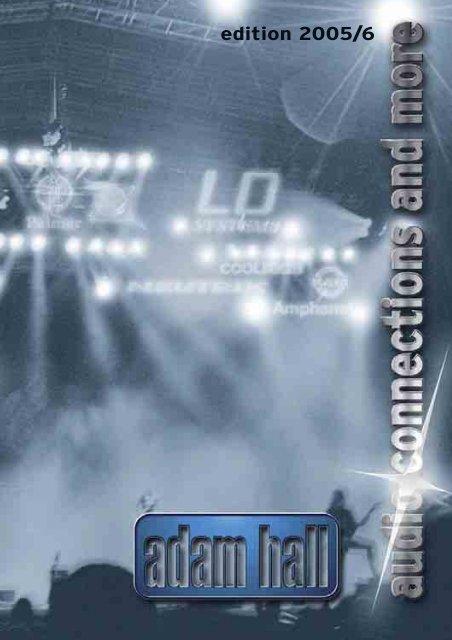 0.6m Adam Hall 4 Star Series Mikrofonkabel Rean 6.3mm Stereo Klinke