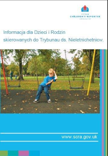 Informacja dla Dzieci