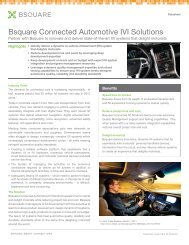 Driving Automotive Innovation - Bsquare