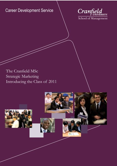 Career Development Service Cranfield School Of Management