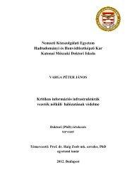 2. Fejezet Vezeték nélküli hálózatok és a kritikus információs ...