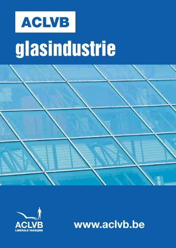 Sectorbrochure glasindustrie : PC 115, PC 115.03 en PC ... - Aclvb