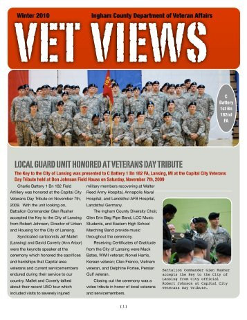 VET VIEWS - Veterans Affairs - Ingham County