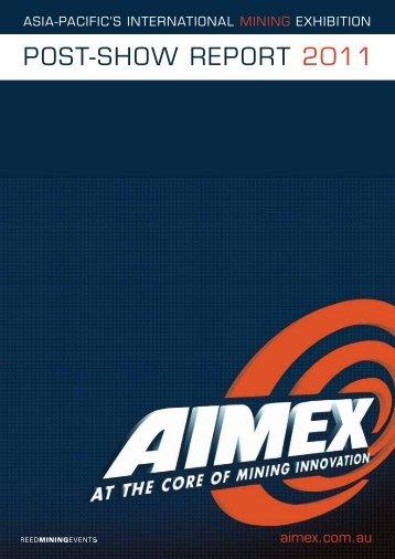 AIMEX 2011 Post Show Report
