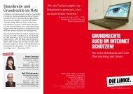 Flyer zu linker Netzpolitik [PDF] - Die Linke NRW