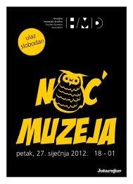 program - Hrvatsko muzejsko društvo