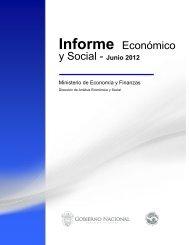 Informe Económico y Social - Junio 2012 - Ministerio de Economía y ...