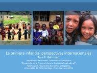 La Primera Infancia: perspectivas internacionales
