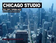 CHICAGO STUDIO - VT - School of Architecture + Design - Virginia ...