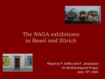 A visit to two Naga Exhibitions in Switzerland