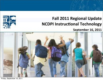 Region 8 Fall Update, September 16, 2011