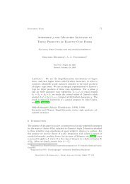 Admissible p-adic Measures Attached to Triple Products of Elliptic ...