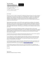 David Geffen School of Medicine at - UCLA Center for Prehospital ...